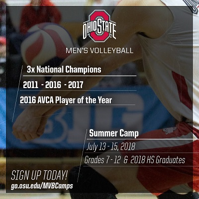Ohio State MVB Camp Sign Up Information